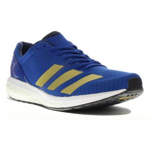 Adidas Adizero Boston 8 M, Chaussures de Running Homme, Bleu Collegiate Royal/Gold Met./FTWR White, 42 EU