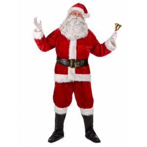 Déguisement complet père Noël Luxe adulte XL