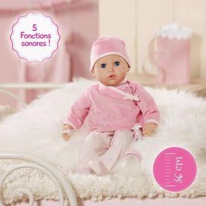 Lansay Poupon My first baby Annabelle joue avec moi (36cm)