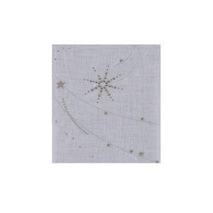 Alexandre Turpault Stella - Chemin de table avec cristaux de Swarovski (38 x 250 cm)