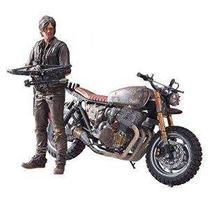 MCFarlane Toys Walking Dead TV – Daryl Dixon avec Bike NEUF Sculpt