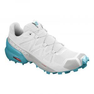 Salomon Shoes Speedcross, Chaussures de Running Compétition Femme, Blanc