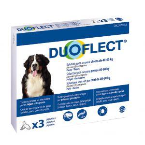 Ceva Duoflect chiens 40-60 kg 3 pipettes