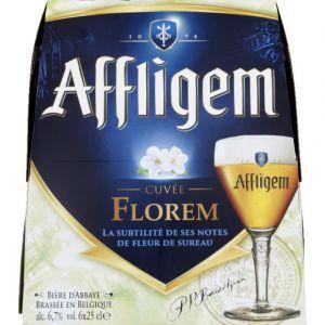 Affligem Bière blonde, Cuvée Florem - Les 6 bouteilles de 25cl