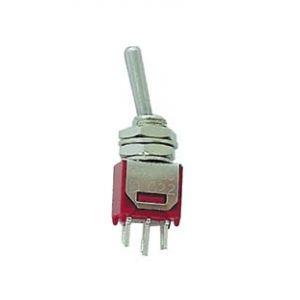 Velleman Interrupteur à levier 1 x On/On SP 244 250 V/AC 1.5 A permanent 1 pc(s)