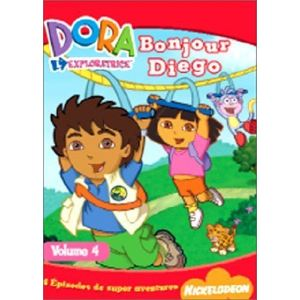 Dora l'exploratrice - Volume 4 : Bonjour Diego !
