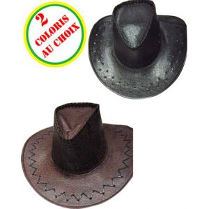 Smiffy's Chapeau Cow-Boy Croco (diff. coloris)