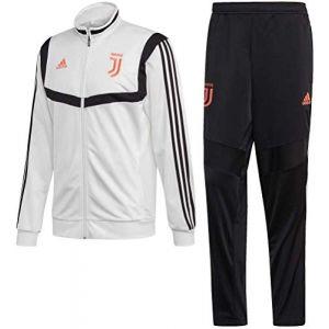Adidas Juventus Survêtement de Football en Polyester pour Homme 2XL Blanc/Noir