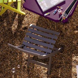 Grosfillex Miami - Chaise de jardin pliante en résine