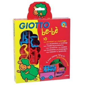Giotto Set de 10 accessoires pour pâte à jouer