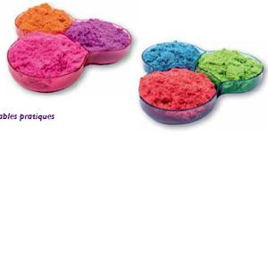 Spin Master Kinetic Sand : Pack 3 couleurs 900 g
