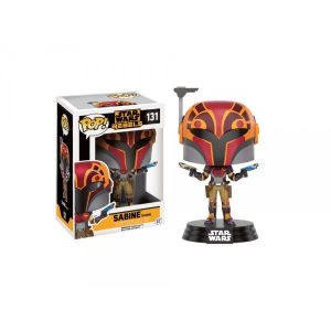 Funko Pop! Sabine In Helmet Exclu 10 cm : Figurine Star Wars Rebels