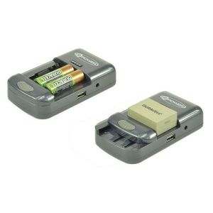 2-Power Chargeur universel pour batteries et piles AA & AAA