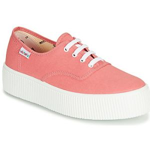 Victoria Baskets basses 1915 DOBLE LONA rose - Taille 36,37,38,39,40,41,42