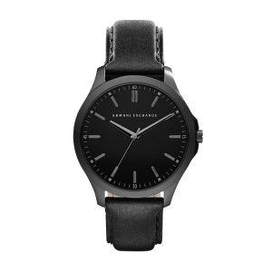 Giorgio Armani AX2148 - Montre pour homme avec bracelet en cuir