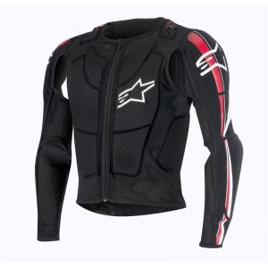 Alpinestars Gilet de protection BIONIC PLUS noir/rouge/blanc - S