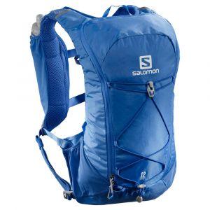 Salomon Agile 12 SET Sac hydratation / Gourde Bleu - Taille TU