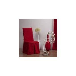 Comptoir des toiles Housse de chaise bachette Inès en coton