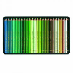 Caran d'Ache Coffret de crayons Pablo de - 120 crayons - Boîte en métal