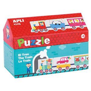 APLI Puzzle 20 pièces Kids Le train