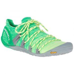 Merrell Women´s Vapor Glove 4 3D - Chaussures de trail taille 37,5, vert/gris