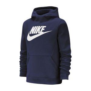 Image de Nike Sweat à capuche en tissu Fleece Sportswear Garçon - Bleu - Taille L Male
