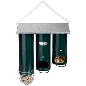 Esschert design FB48 - Mangeoire orgue triple pour oiseaux
