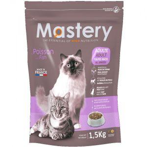Mastery Croquettes pour chat Adult au poisson - Contenance : 1,5 kg