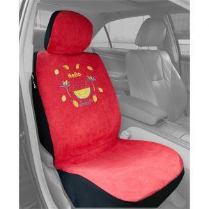 Summer 1 housse universelle siège avant voiture éponge rose
