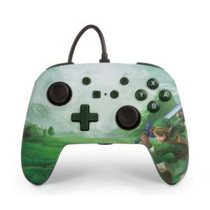 PowerA Manette Nintendo Switch filaire Link Hyrule