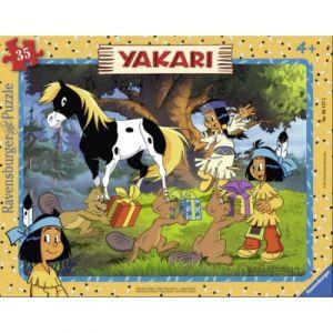 Ravensburger Puzzle Yakari 35 Pièces Puzzle Cadre