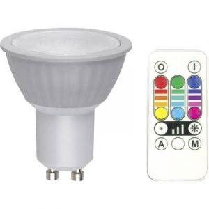 Ampoule LED GU10 1168138 réflecteur 3.2 W = 25 W RVB EEC: classe B à intensité variable, à couleur changeante, avec té