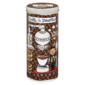 Derrière la porte Boîte pour dossettes de café souple