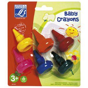 Lefranc & bourgeois Lot de 6 baby crayons