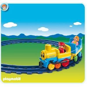 Playmobil 6760 - 1.2.3 : Train et rails
