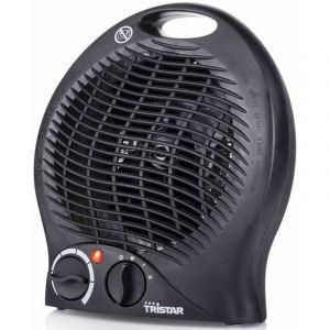 Tristar Ka-5037 - Chauffage Électrique Noir Soufflant - 3 Positions - Thermostat Réglable