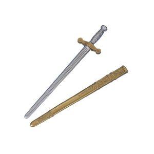 César Épée de chevalier avec fourreau