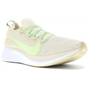 Nike Zoom Fly Flyknit Femme Crème - Taille 39 Female