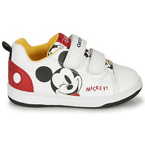 Geox Baskets basses enfant NEW FLICK MICKEY Blanc - Taille 20,22