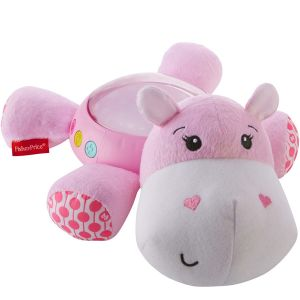 Fisher-Price Hippo douce nuit rose