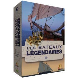 Coffret Les Bateaux Légendaires - 4 DVD