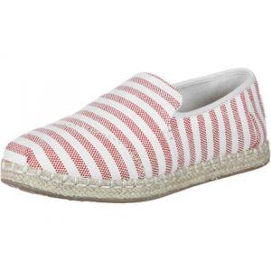 Toms Deconstructed Alpargata Nvlty Txtl W chaussures rouge blanc rayé 36 EU