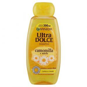 Garnier Shampoo All'estratto di Camomilla e Miele Capelli Chiari, Senza Parabeni - 300 ml