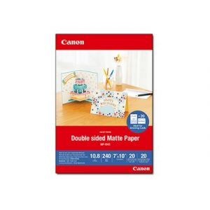 Canon MP-101 D 7x10 20 Sheets Double sided Matte Paper 240 g