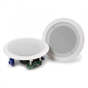 Power Dynamics CSBT60 - Set d'enceintes de plafond ampli 5,25 Bluetooth