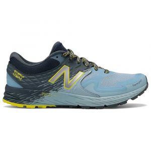 New Balance Chaussure trail running New-balance Summit Qom - Blue / Grey / Navy / Yellow - Taille EU 37