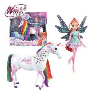 Splash Toys Poupée Winx Bloom Et Sa Licorne Elas