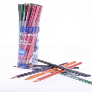 Giotto 516300 - Pot de 48 crayons de couleur Stilnovo assortis