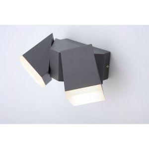 Paul neuhaus Ryan 9722-13 Applique murale LED extérieure 12 W EEC: LED (A++ - E) blanc chaud anthracite