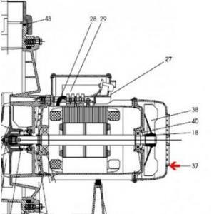 Procopi 593020 - Capot de ventilateur de pompe Tifon 1